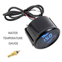 "Universal  2"" 52mm Digital Car Water Temp Temperture Gauge Thermometer Meter"