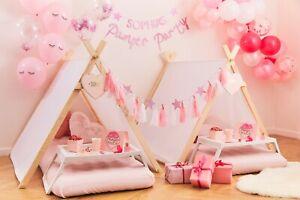 Pamper Party, Sleepy Eyes, Pink Sleepover Party, Girls Birthday Party Tableware