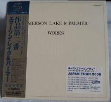 Emerson Lake & Palmer - Works Volume 2 (1977) JAPAN Mini LP SHM-CD NEW VOL II