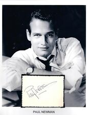 Paul Newman Autograph Actor Director Newman's Own  Pro Race Car driver Ohio