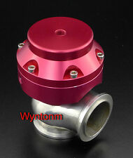38MM 16 PSI Boost Turbo Stainless Steel V Band Wastegate Dump Red II