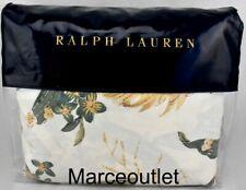 Ralph Lauren Olivia Josefina Floral King Duvet Cover Classic Cream