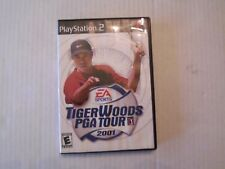 Tiger Woods PGA Tour 2001 (Sony PlayStation 2, 2001) (N8)