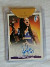 Candace Parker Personally Signed Rittenhouse MVP Incentive Card LA Sparks