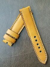 24mm NEW HANDMADE LEATHER STRAP Watch Band strap PANERAI Retro Military Style