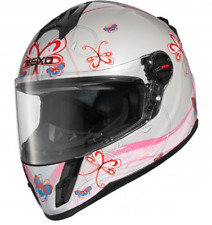 CASQUE MOTO FILLE Nexo Junior III 2.0 pink décor