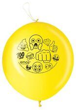 Emoji Ponche Globos, paquete de 2
