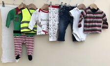 Baby Boys Bundle Of Clothing Age 3-6 Months <D2984
