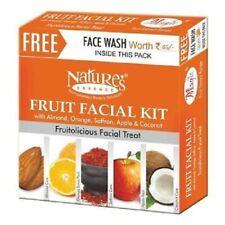 Nature's Essence Magic Fruit Facial Kit with almond,orange,saffron,apple&coconut