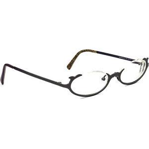 Jean Lafont Eyeglasses Meringue 127 Brushed Purple Half Rim France 49[]19 135