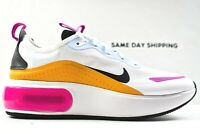 Nike Air Max DIA (Womens Size 7) Shoes CJ0636 100 White Yellow Pink Multicolor