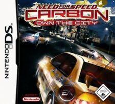 Nintendo DS 3DS NEED FOR SPEED CARBON DEUTSCH Sehr guter Zustand