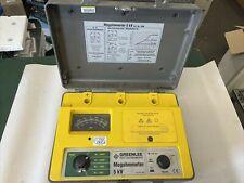 Greenlee 5990 5kv Megohmmeter Insulation Tester 500v1kv2kv5kv Voltages