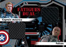 Captain America Movie 2 Winter Soldier Fatigues FD-6 Memorabilia Costume Card