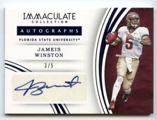 JAMEIS WINSTON 2016 IMMACULATE COLLECTION AUTOGRAPHS BLUE 3/5 SUPER SHORT PRINT