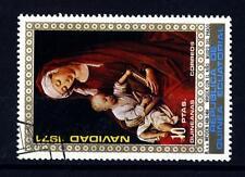EQUATORIAL GUINEA - GUINEA EQUATORIALE - 1972 - Natale: dipinti di Madonna, R. v