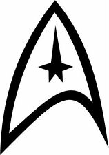 Star Trek vinyl sticker decal U Choose Color