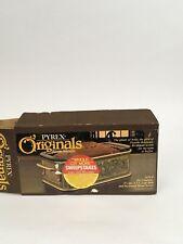 Vintage Pyrex Originals Fireside Bakeware #2135-F 1.5 Qt Loaf Dish
