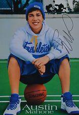 Austin Mahone-autografiada mapa-signed Autograph autógrafo recortes colección