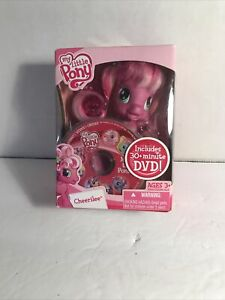 2009 My Little Pony Cheerilee w/Mini 30+ Minute DVD New Factory Sealed Hasbro