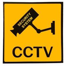 3x Set Aufkleber Warnaufkleber Kamera/Video Ueberwachung Warnschild 100x100 T1I2