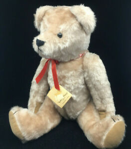 Teddy Bear Omar Limted Edition #0111 Linda Spiegel CA Bearly There Blonde Red 18