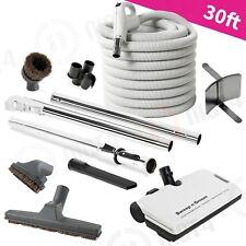 NEW!  BEAM Central Vacuum COMPLETE Set 30' Hose Powerhead Nozzle Vac -Premium!!!