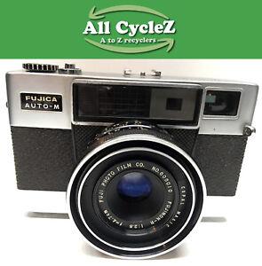 Fujica Auto -M 35mm film Camera1:2.8 f=4.7cm Fujinon-R Lens NOT TESTED