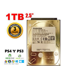 "2018 DISCO DURO INTERNO 1TB 2.5"" SATA Toshiba MQ01ABD100 HDD PARA PC PS3 PS4"