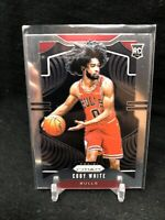 COBY WHITE 2019-20 Panini Prizm Base Rookie Card RC Chicago Bulls #253 B45