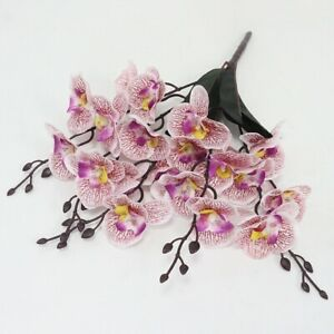 Artificial Flower Dancing Orchid Phalaenopsis Bouquet Wedding Party Home Decor
