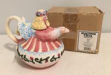"Angel Teapot Jim Shore NEW In Box 2002 Heartwood Creek 6.5"" Tall 108689"