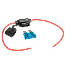In Line Standard 19mm Blade Fuse Holder Splash Waterproof for Fuses Car Bike