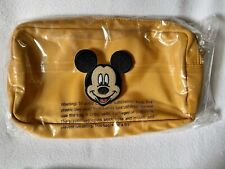 """NWT Stoney Clover Citrine Small Pouch w/ Choice of 3"""" Patch (see Description)"""
