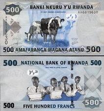 RUANDA - Rwanda 500 francs 2013 FDS - UNC