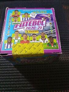 FUTEBOL 2020/21 (Portuguese League) Sealed box with 50 sachets