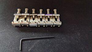 Fender Original Stratocaster Vintage Bridge Saddles, Aged Nickel Plated
