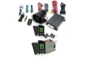 PYTHON 5706P 2 Way LCD Car Alarm Remote Engine Start System VIPER Clifford NEW