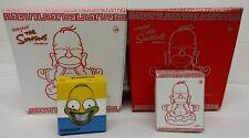 Kidrobot The Simpsons Homer 4-Pack, Buddha, Buddha Silver, Buddha Mini & Grin