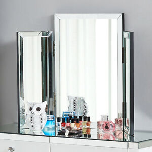 Vanity Tri-fold Makeup Mirror Bedroom Luxury Folding Mirrors for Dressing Table