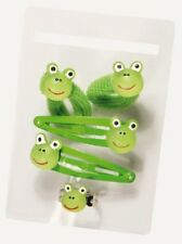 Haarschmuckset Frosch Ring Haargummis Haarspange Schmuck