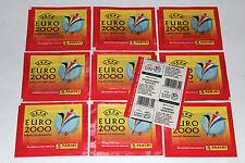 Panini EM EC Euro 2000 00 – 10 x Tüte packet bustina sobre pochette VERS. NORMAL