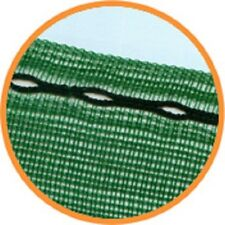 4m x 2m wide Horticultural Windbreak Shade Netting 50% with eyelets offcuts