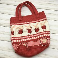 Handmade Olivia The Pig Children's Tote Bag or Purse