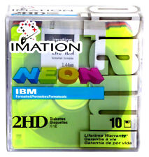 IMATION → 51122 11916 → NEON COLORS 2HD DISKETTES → IBM Formatted → Caja 10 disc