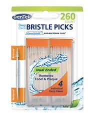 DenTek Deep Clean Bristle Picks 260 ct