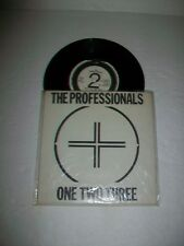 PROFESSIONALS - 45 - ONE TWO THREE - PUNK Oi! KBD - w/POSTER