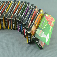 "78mm Rolling Papers 10 kinds Flavored 10 packs  1 1/4"" Handroll Bumblebee gum"