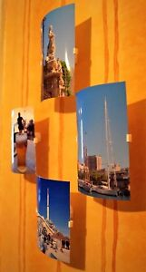 Photo/Picture/Postcard Easy Display Frames Holders Floating