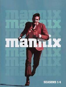 Mannix: Seasons 1-4 dvd NEW FREE SHIPPING